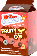Not Just Cereal Milk Chocolate Fruity Flavored O's