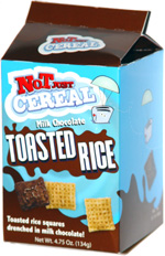 Not Just Cereal Milk Chocolate Toasted Rice