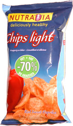 Nutradia Chips Light Red Sweet Paprika