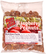Nuts are Good Raspberry Peanuts