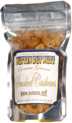 Nutten But Nuts Premium Gourmet Smoked Cashews