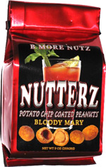 Nutterz Potato Chip Coated Peanuts Bloody Mary