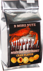 Nutterz Potato Chip Coated Peanuts Crab Flavor