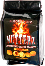 Nutterz Nuclear Potato Chip Coated Peanuts