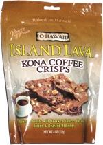O Hawaii Island Lava Kona Coffee Crisps