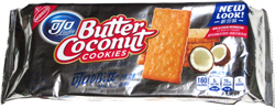 Nabisco Ojo Lucky Butter Coconut Cookies