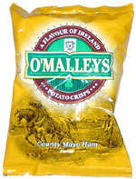 O'Malleys County Mayo Ham Flavour Potato Crisps