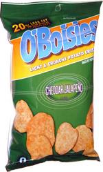 O'Boisies Cheddar & Jalapeno
