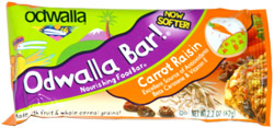 Odwalla Bar! Carrot Raisin