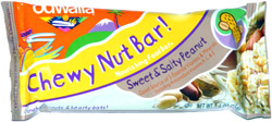 Odwalla Chewy Nut Bar! Sweet & Salty Peanut