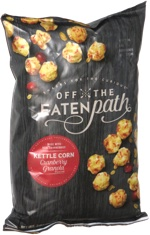 Off the Eaten Path Kettlecorn Cranberry Granola