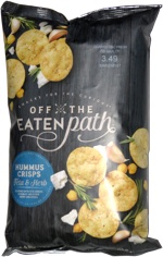 Off the Eaten Path Hummus Crisps Feta & Herb