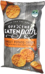 Off the Eaten Path Sweet Potato Crisps