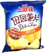 Oishi Potato Chips Barbecue Flavor