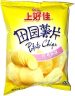 Oishi Potato Chips Plain Salted Flavor