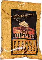 Old Dominion Half Dipped Peanut Squares