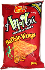Old Dutch Arriba Buffalo Wings Tortilla Chips