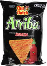 Old Dutch Arriba Tortilla Chips Sriracha