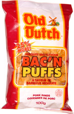 Old Dutch Mesquite BBQ Flavour Bac'n Puffs