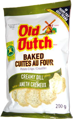Old Dutch Baked Potato Crisps Creamy Dill Flavoured