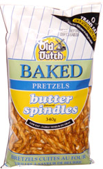 Old Dutch Baked Pretzels Butter Spindles