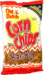 Old Dutch Corn Chips Bar-B-Q