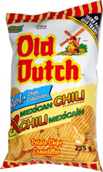 Old Dutch Rip-L Chips Mexican Chili