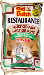 Old Dutch Restaurante Multigrain Triangles French Onion
