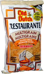 Old Dutch Restaurante Multigrain Nacho Cheese Triangles