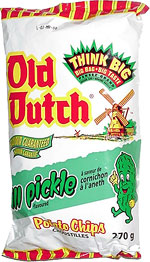 Old Dutch Dill Pickle Potato Chips