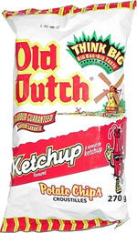 Old Dutch Ketchup Potato Chips