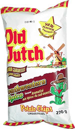Old Dutch Southwestern Spice Flavored Potato Chips