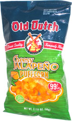 Old Dutch Cheesy Jalapeno Puffcorn