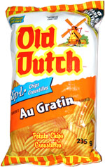 Old Dutch Rip-L Chips Au Gratin