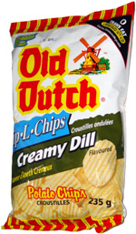 Old Dutch Rip-L-Chips Creamy Dill