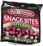 Old Wisconsin Snack Bites Pepperoni Flavored