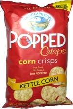 Olde Cape Cod Popped Crisps Corn Crisps Kettle Corn