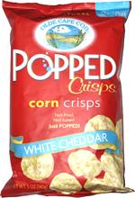 Olde Cape Cod Corn Crisps White Cheddar