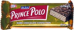 Olza Prince Polo Classic Dark Chocolate Confection
