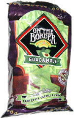 On the Border Guacamole Cafe Style Tortilla Chips