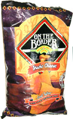 On the Border Nacho Cheese Cafe Style Tortilla Chips