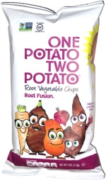 One Potato Two Potato Root Vegetable Chips Root Fusion