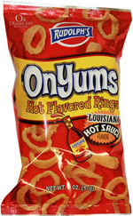 Rudolph's OnYums Louisiana Hot Sauce Flavor Rings