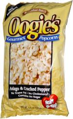 Oogie's Gourmet Popcorn Asiago & Cracked Pepper