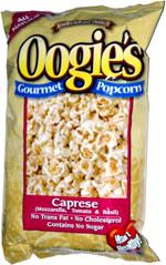 Oogie's Gourmet Popcorn Caprese (Mozzarella, Tomato and Basil)