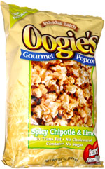 Oogie's Gourmet Popcorn Spicy Chipotle & Lime