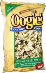 Oogie's Gourmet Popcorn Romano & Pesto