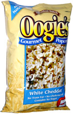 Oogie's Gourmet Popcorn White Cheddar