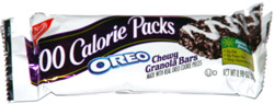 Oreo Chewy Granola Bars 100 Calorie Packs