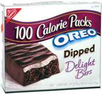 100 Calorie Packs Oreo Dipped Delight Bars